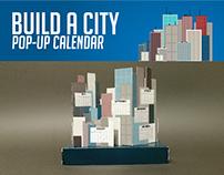 Build A City: Pop-Up Calendar