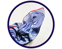 CUTTING EDGE _ foulard
