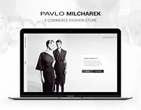 Pavlo Milcharek fashion store