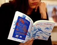 Viva la muerte book cover design