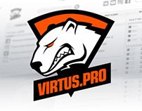 Virtus.Pro team website
