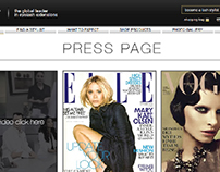 Press Page Layout Concepts