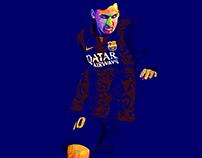 Lionel Messi - №10