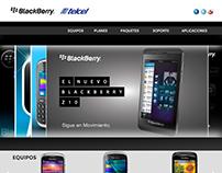Sitio Web BlackBerry Telcel