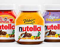 Nutella Product Shoot