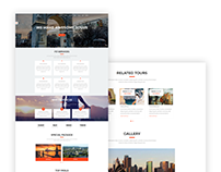 FZ – Tour And Travel Agency HTML Template