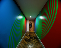 RGB Hallway