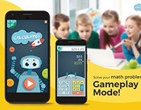 Calculate! - Gamification calculator for 6th graders