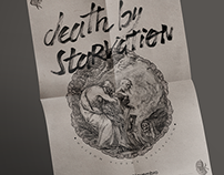 Death By Starvation Gig Poster