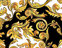 Pattern Design - Baroque (Sketches)