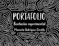 Portafolio | Bocetación Experimental