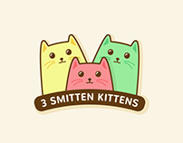 Three Smitten Kittens (Brand Identity)