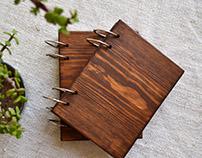 Wooden Sketchbooks