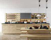 Free scene Valcucine kitchen
