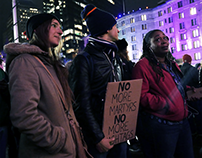 First Night for Sandra Bland and Tamir Rice