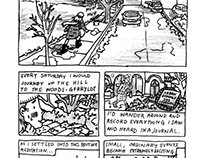 John Porcellino Tribute Comic (Excerpts)