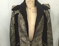 Rock-Inspired Coat