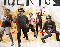 Los Toreros Muertos - Poster, ticket and web-design