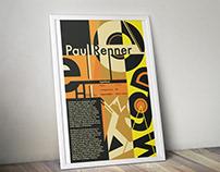 Paul Renner Type Poster