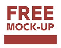 HARD DISK LOGO MOCK-UP-FREE