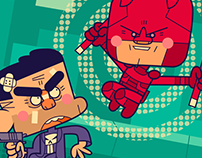 Daredevil VS The Punisher