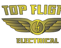 Logo for Top Flight Electrical