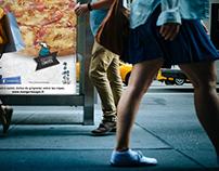Illustration et direction artistique | Pizza Sprint