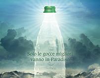 San Bernardo water goes to Heaven