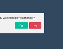 """CSS3 + JQUERY - """"Material Design"""" Confirmation Popup"""