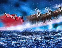 Myself as Santa ..
