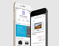Groceree - Retail Shop App User Experience Design