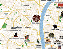 New Cities, New Stories Illustrated map