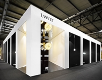 Temple of light LASVIT exhibition stand, 2015