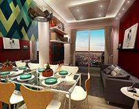 Sala apartamento Ivo & Dani