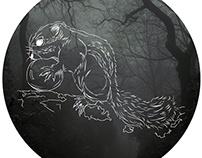 Dark creatures in the forest
