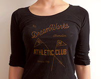 Athletic Club t-shirts for DreamWorks Animation
