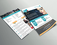Hair salon Flyer (Two sided)