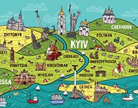 map of Ukraine ♥