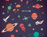 Cósmico Print