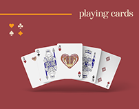 Playing Cards Illustrations and Design