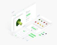 Fresh Food UI Kit for Adobe XD