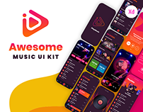 iPlayMusic - A Free Awesome Music App UI