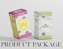 Infuser Package Design | sofisarevalo