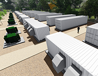 3D Artisitic Impression - Green Energy Site