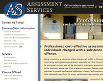 Assessment Services - Web Redesign