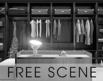 [CGI - FREE SCENE] Walk-In-Closet