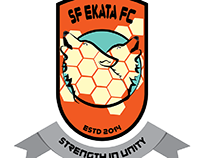 Logo Design for SF Ekata FC