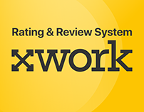 XWORK Rating & Review System | Web UI/UX Design