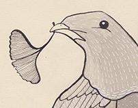 Ginkgo Bird