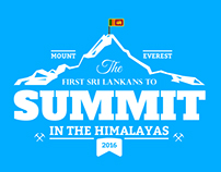 Info graphic: First Sri Lankans to climb Mount Everest